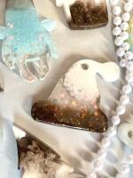 Елочные украшения из эпоксидной смолы