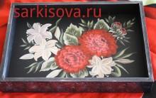 Георгины и лилии
