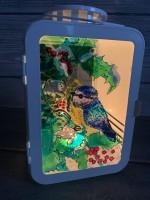 Фонарик с синичками