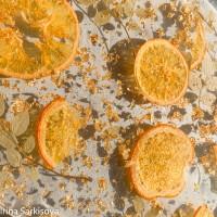 Поднос с апельсинками